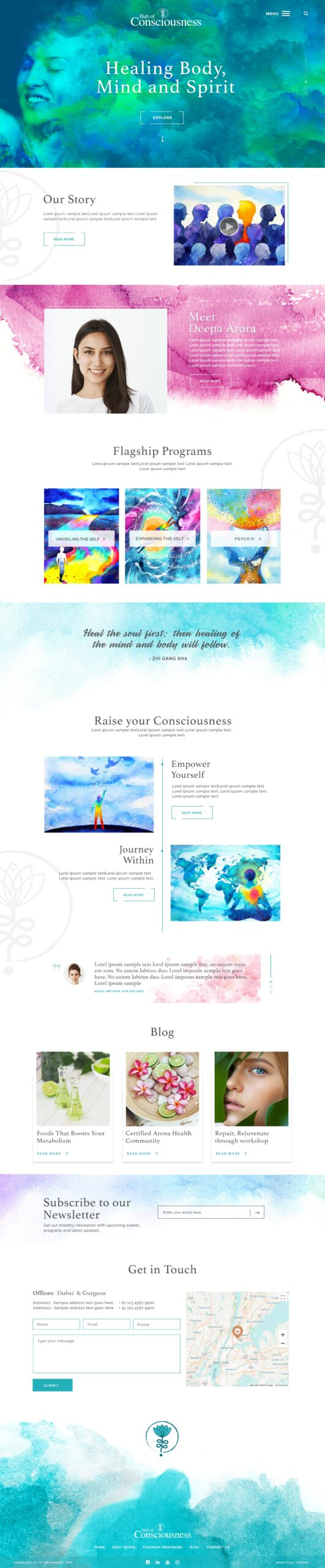 Holistic Web Design company