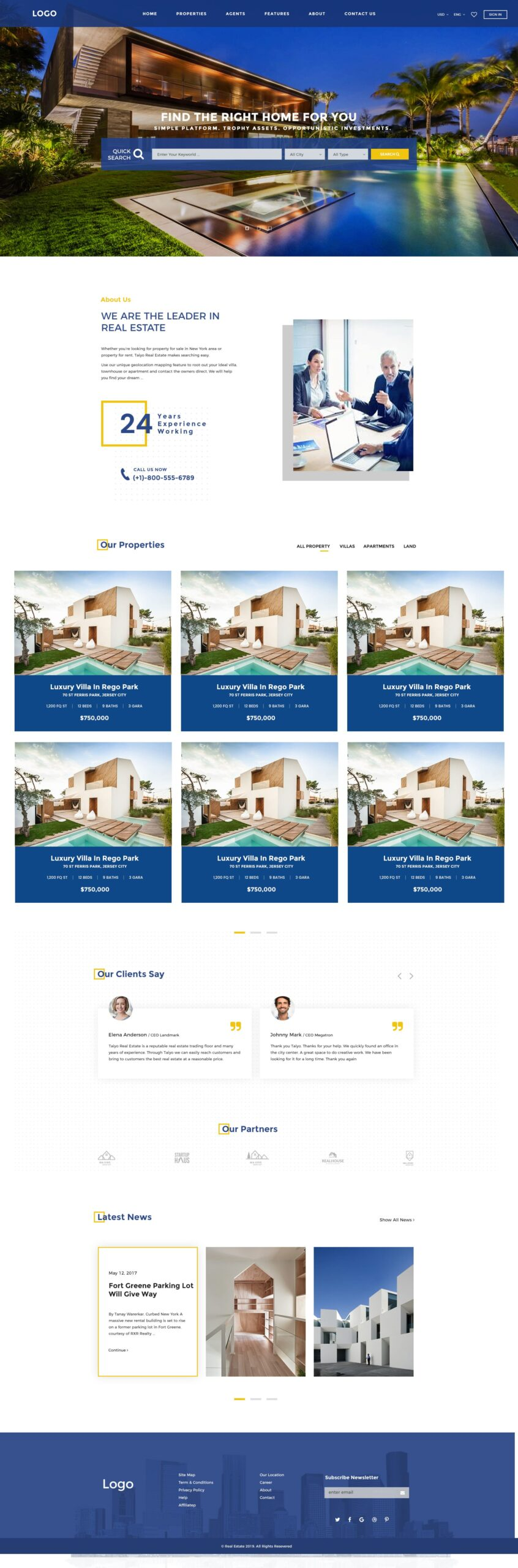 MLS Real Estate Website Design Agency