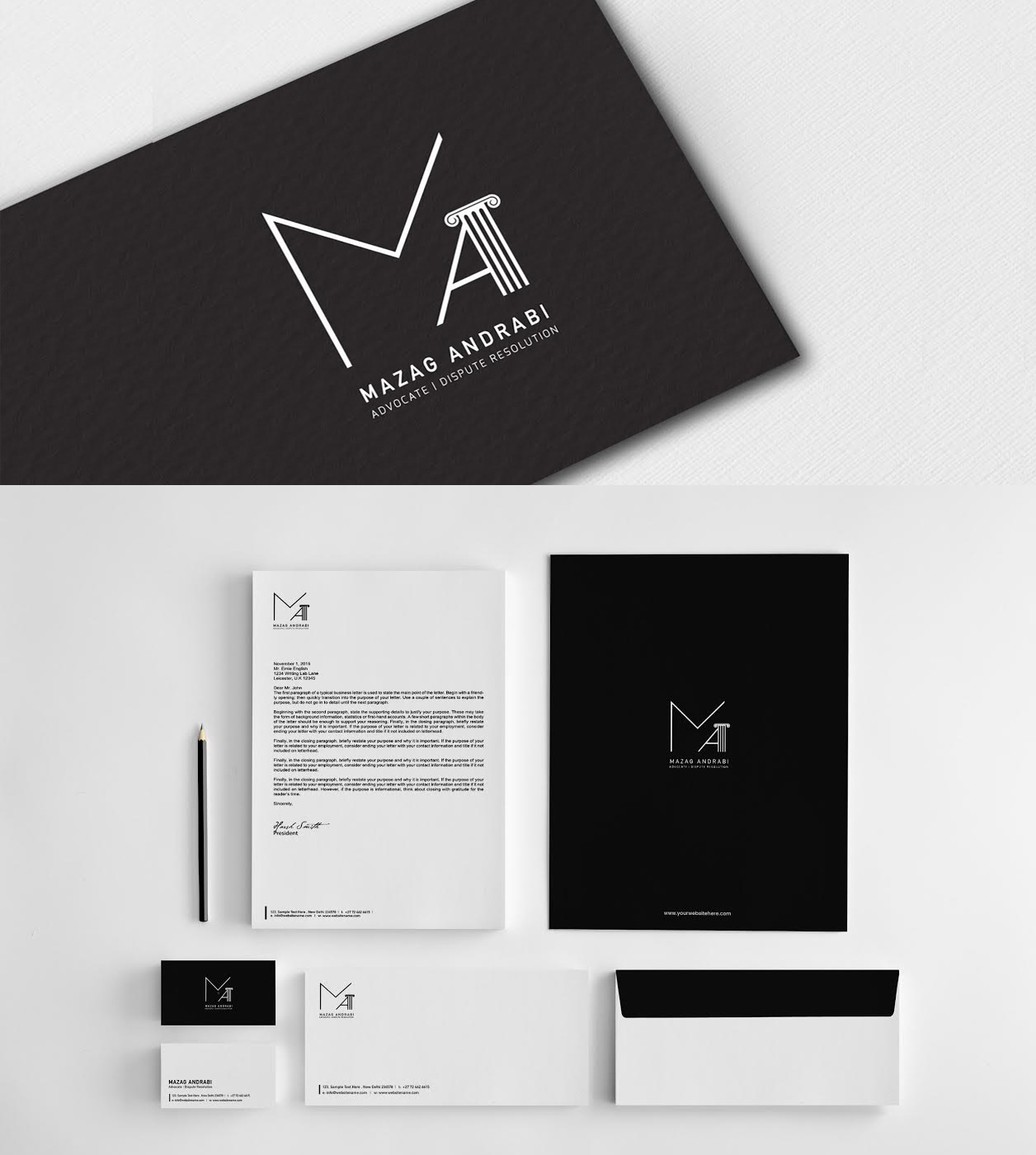 Minimal Monochrome Design