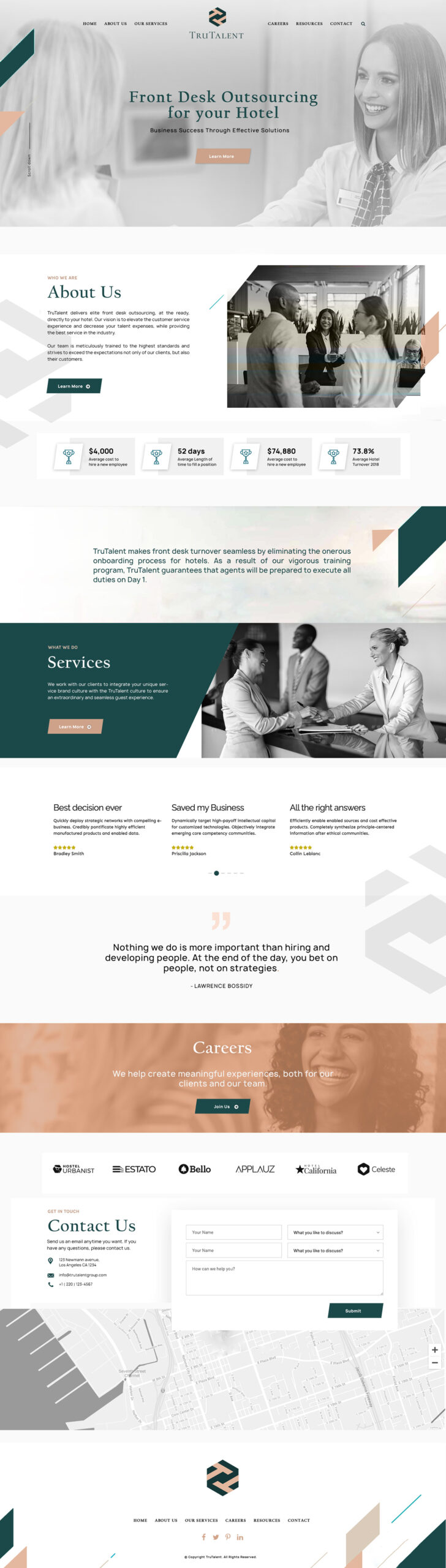 Recruitment Website Design Job Portal